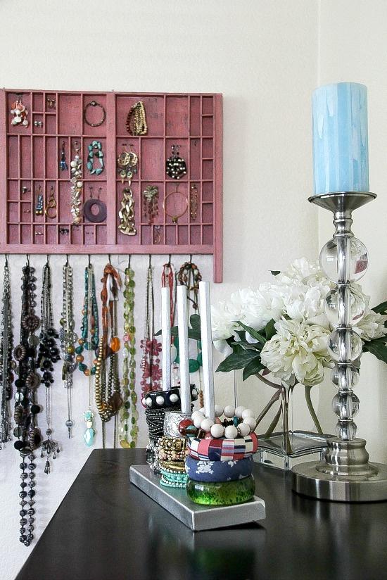 typeset tray jewelry organizer