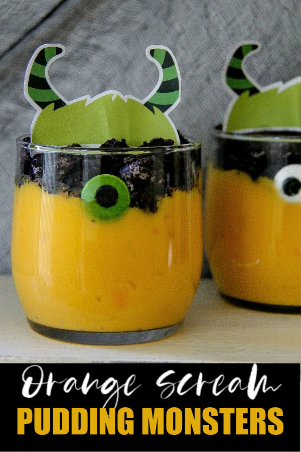 monster pudding Pinterest image