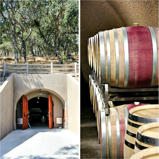 Holman Ranch wine cellar