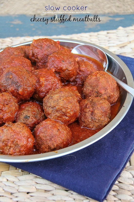 meatballs in a silver bowl