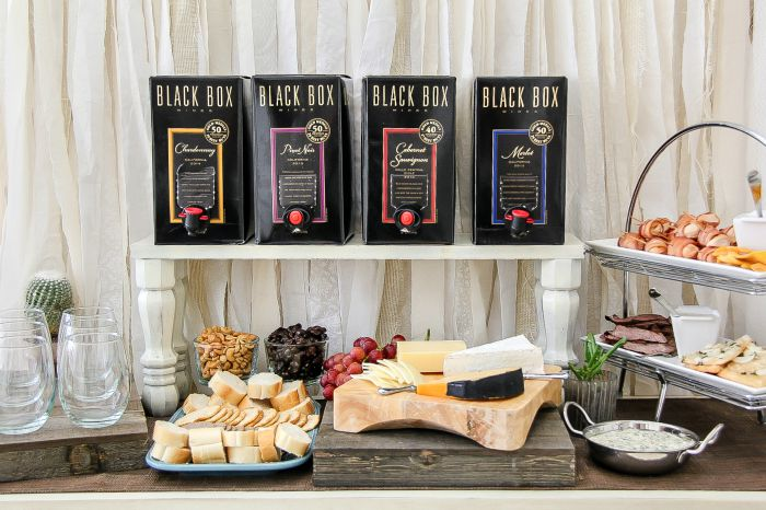 black box wines with food for wine pairings