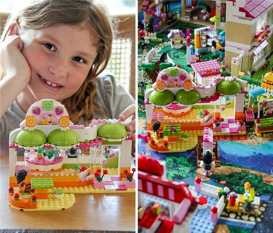 The LEGO Friends citrus cafe set