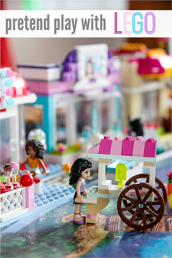LEGO Friends popsicle cart