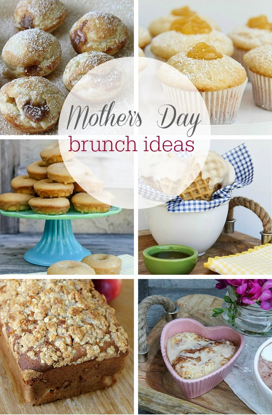 a collection of mother's day brunch ideas