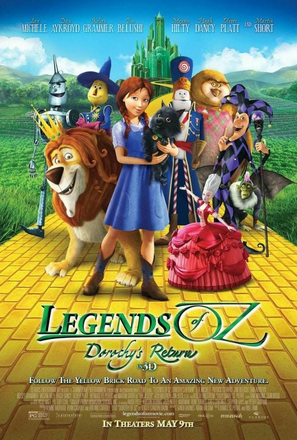 Legends of Oz movie poster