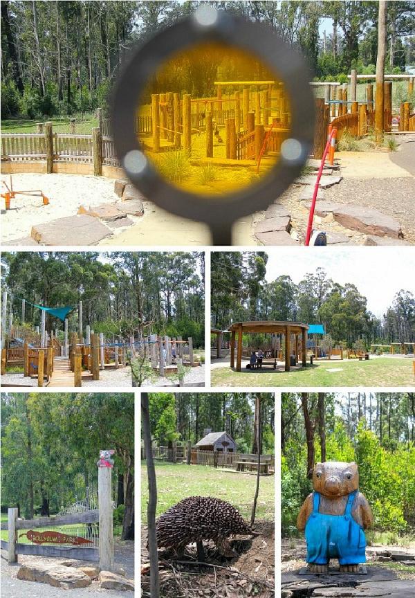 Bollygum Park in Kinglake Victoria
