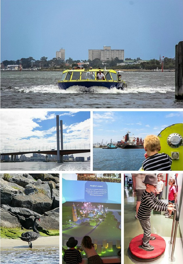 Williamstown Ferry and Scienceworks in Melbourne
