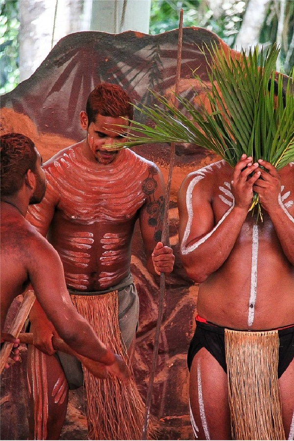 Corroboree Pamagirri Dancers at Kuranda
