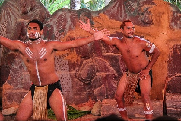 Pamagirri Dancers at a corroboree