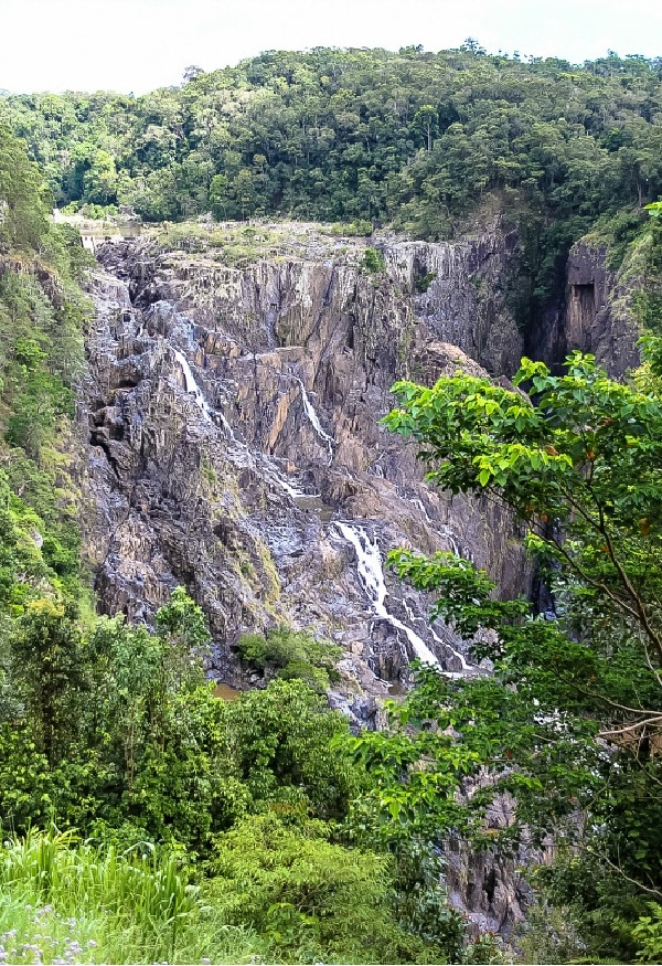 barron falls in queensland