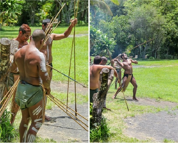 spear throwing at kuranda