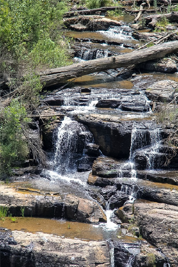masons falls kinglake national park in victoria australia