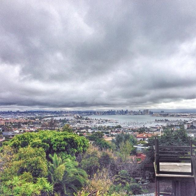 view across san diego bay