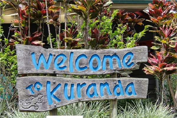 welcome to Kuranda sign