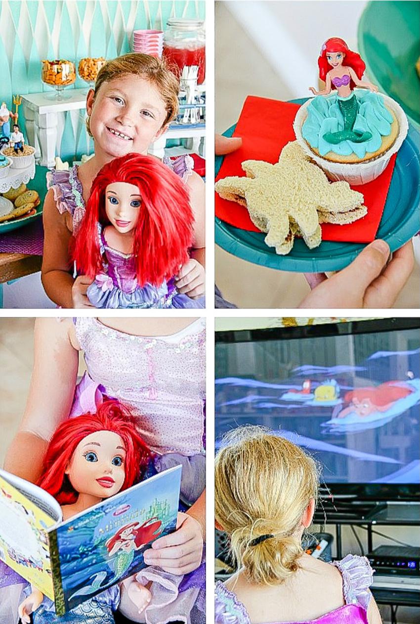 Little Mermaid movie night