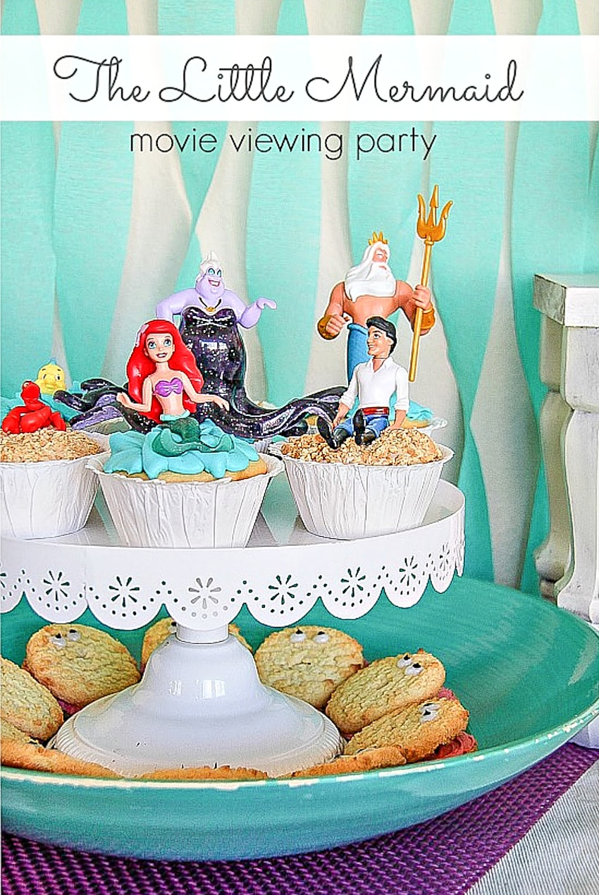 Little Mermaid party food ideas