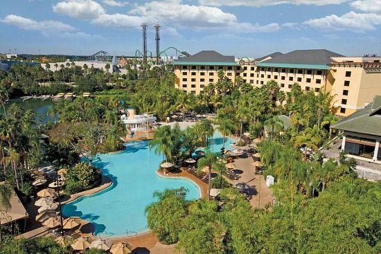 loews royal pacific hotel at universal studios orlando florida
