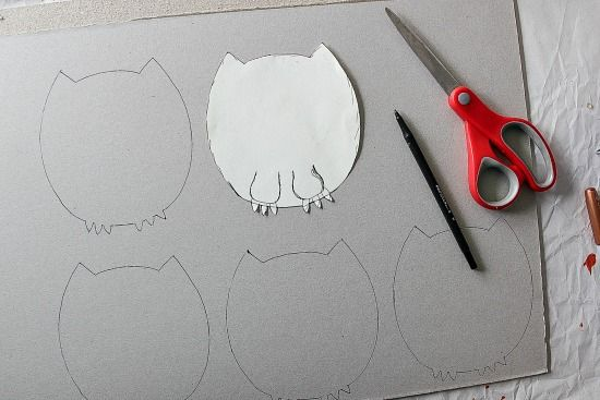 instructions for making an owl invitation for a Harry Potter party