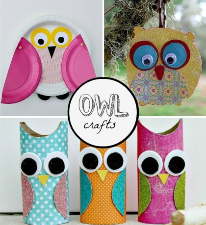 owl crafts for kids to make