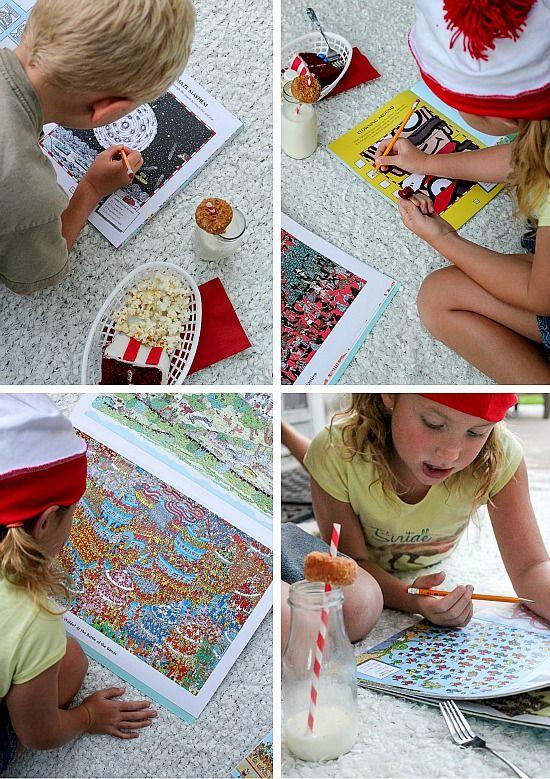 Where's Waldo fun activities to do with kids