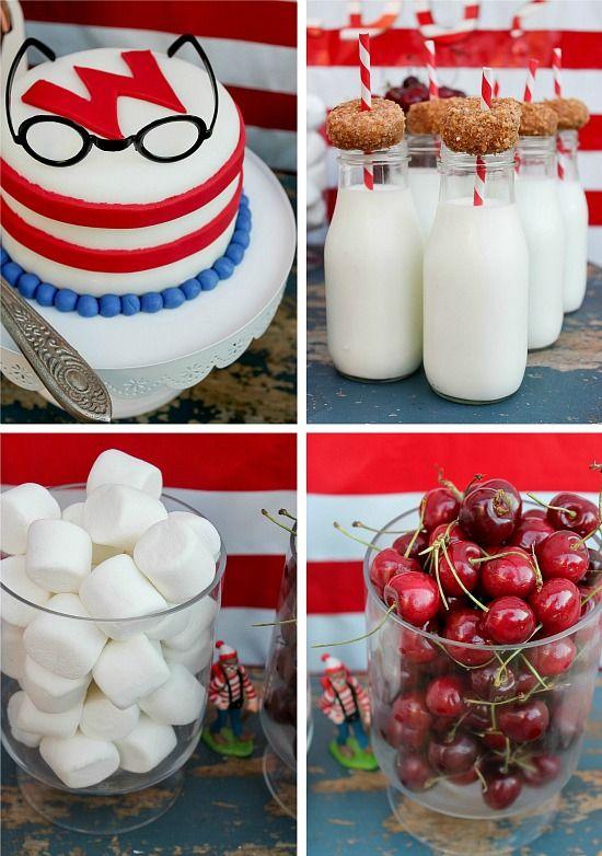 Where's Waldo themed party food