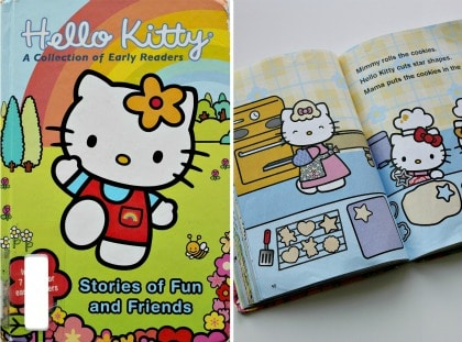 Hello Kitty baking book for kids