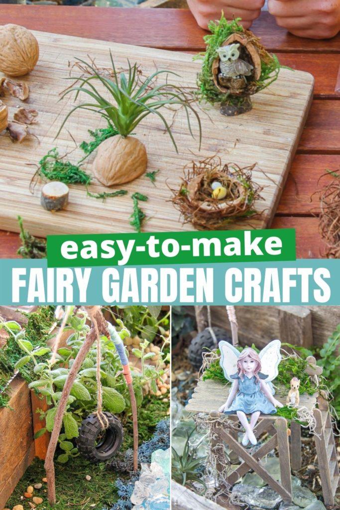 fairy garden pinterest image