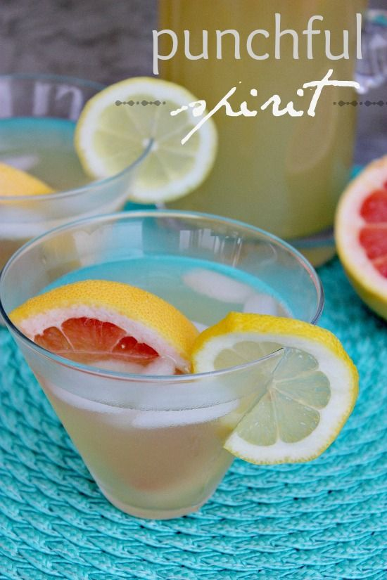 A citrus moscato cocktail for National Moscato Day that has grapefruit and lemon.