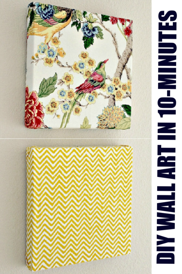 DIY wall art for the home pinterest image
