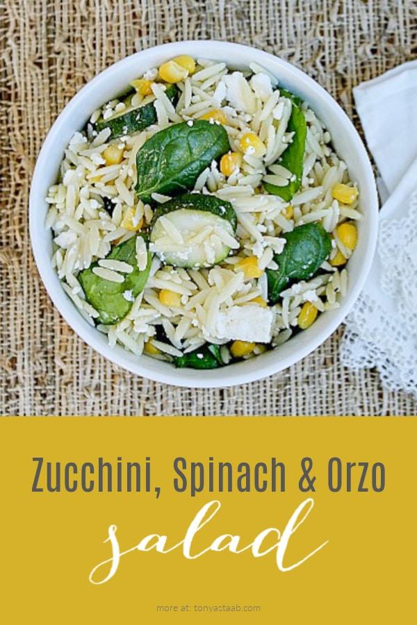 orzo salad pinterest image