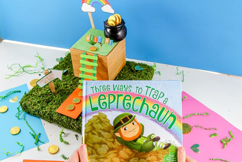leprechaun book and trap for kids
