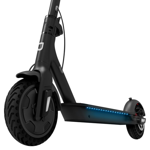 Light up Jetson electric scooter.