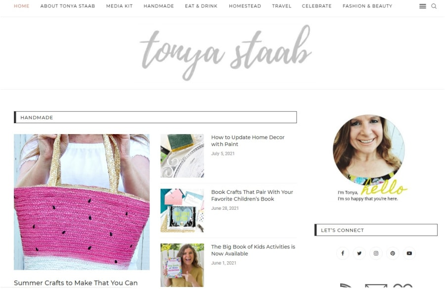 tonyastaab.com blog screenshot