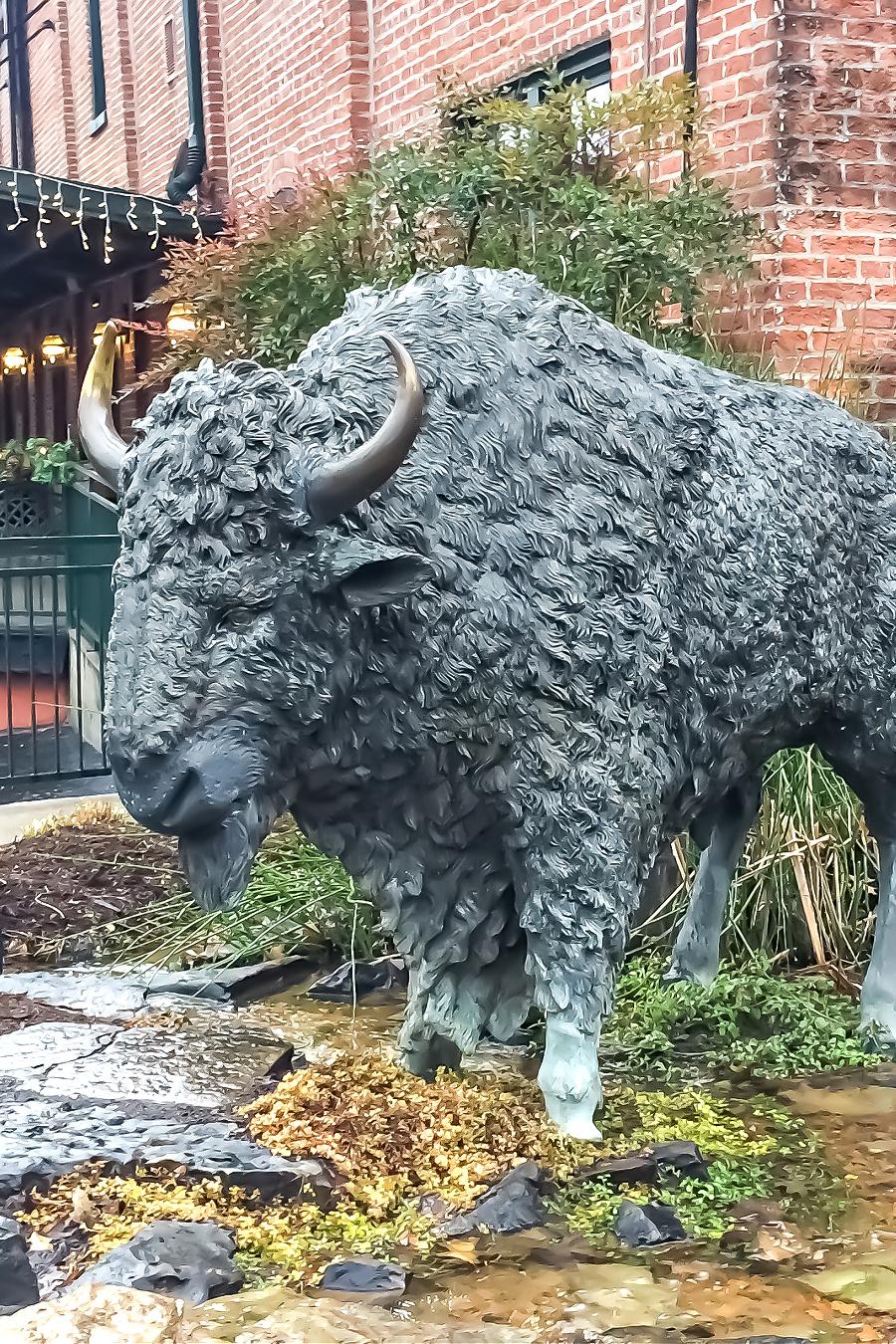 Buffalo Trace Distillery tours in Frankfort Kentucky.