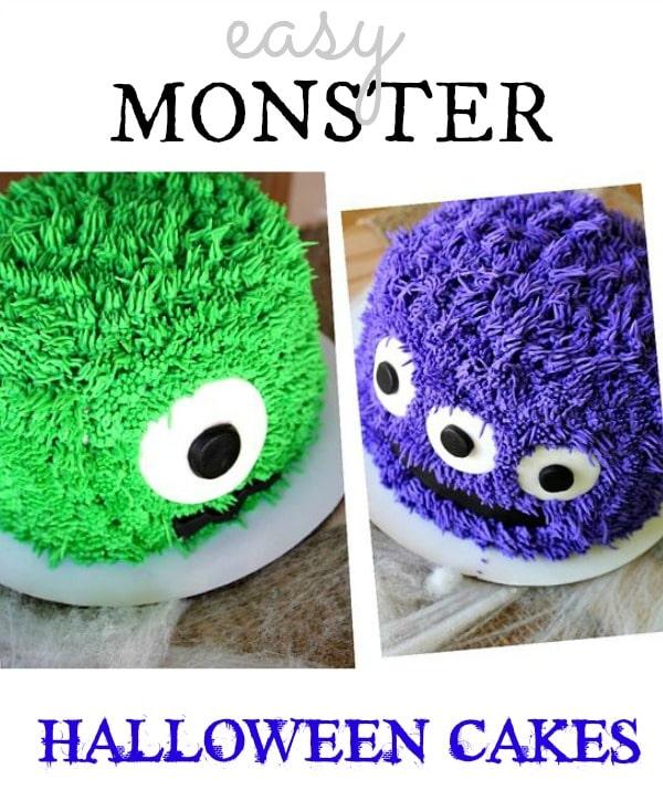 Monster cakes pinterest image