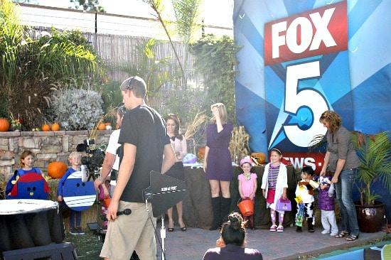 Fox 5 San Diego Halloween morning news segment