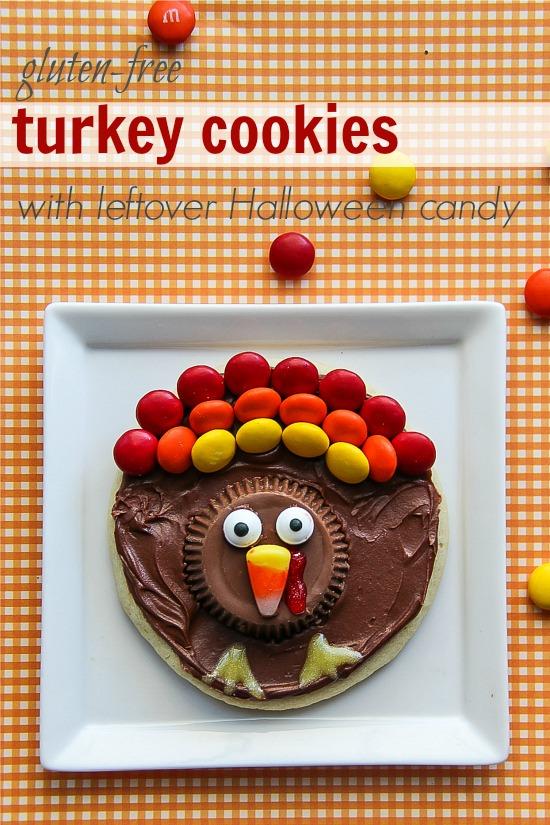 gluten free turkey cookies