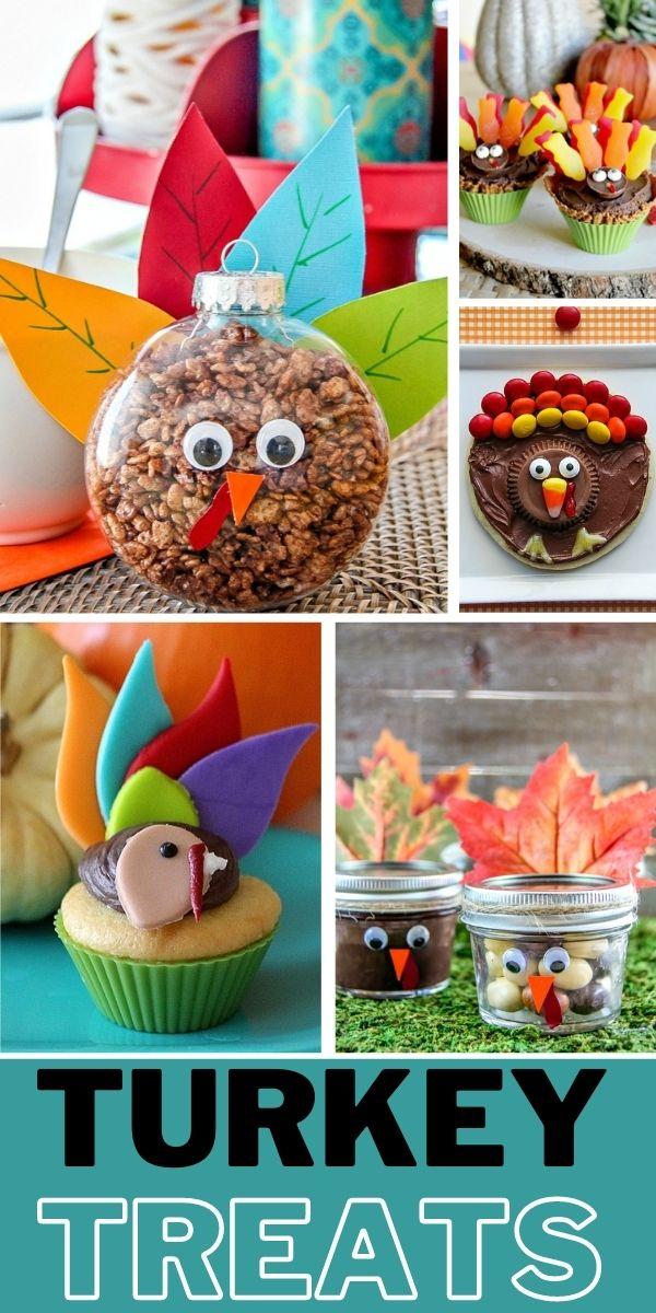 turkey treats Pinterest image