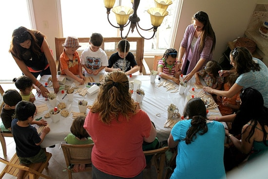 a craft party for kids
