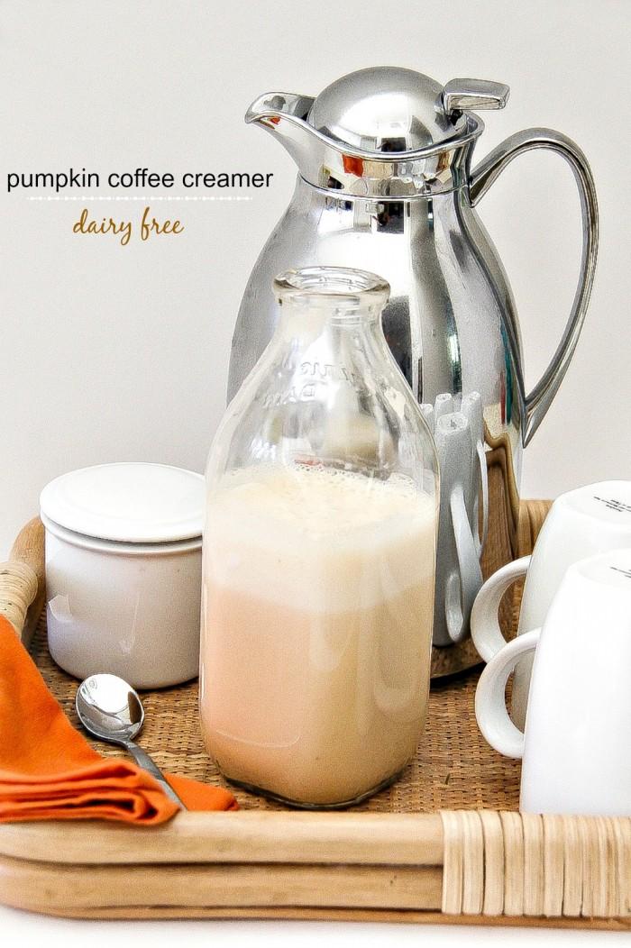 dairy free pumpkin spice coffee creamer recipe
