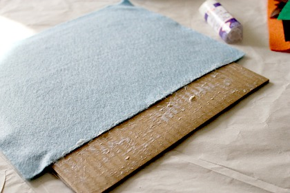 instructions for making a felt board for kids