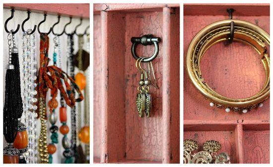 jewelry hanging on a wall jewelry organizer